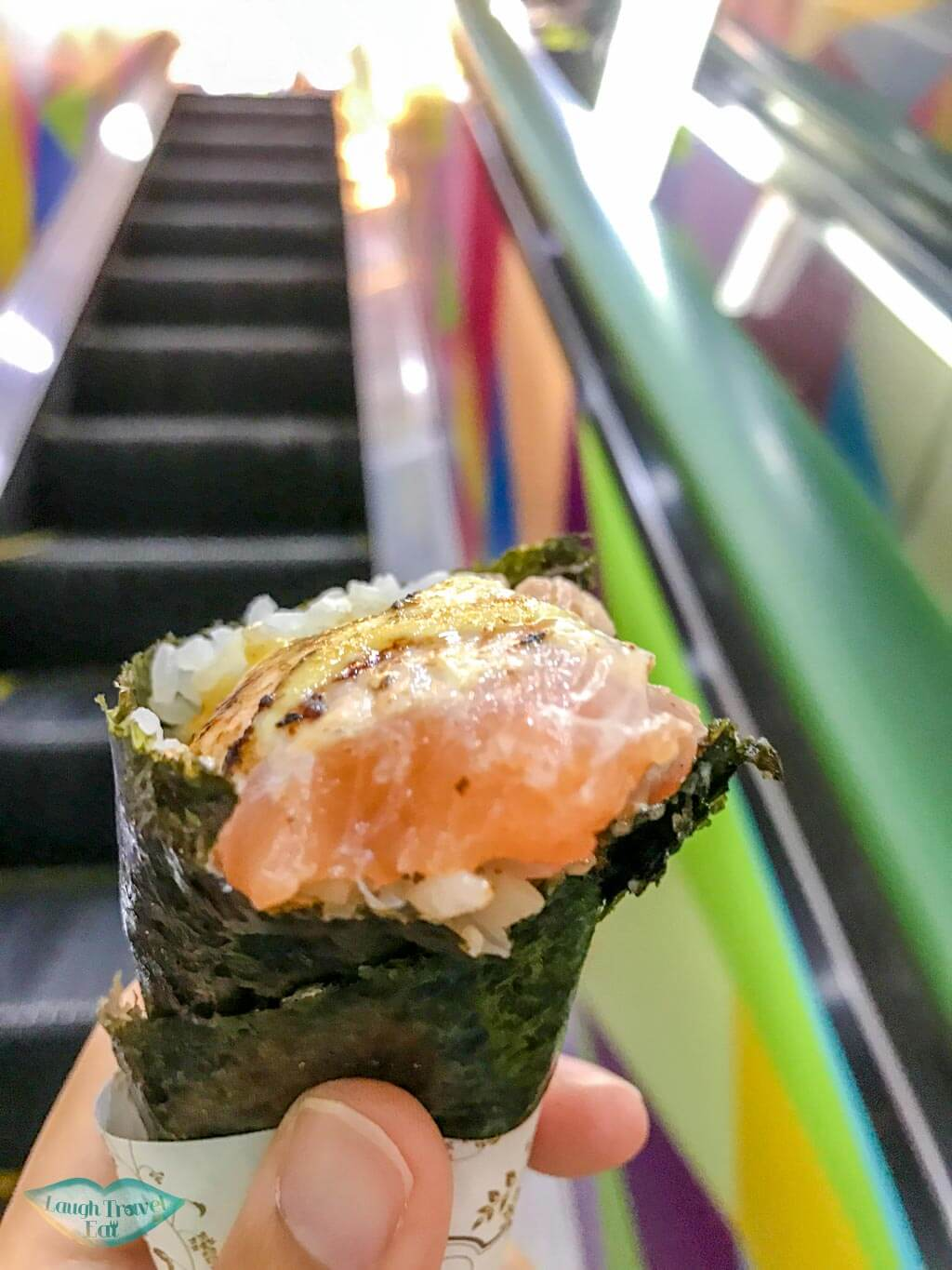 sushi handroll argyle centre Mongkok Hong Kong - Laugh Travel Eat
