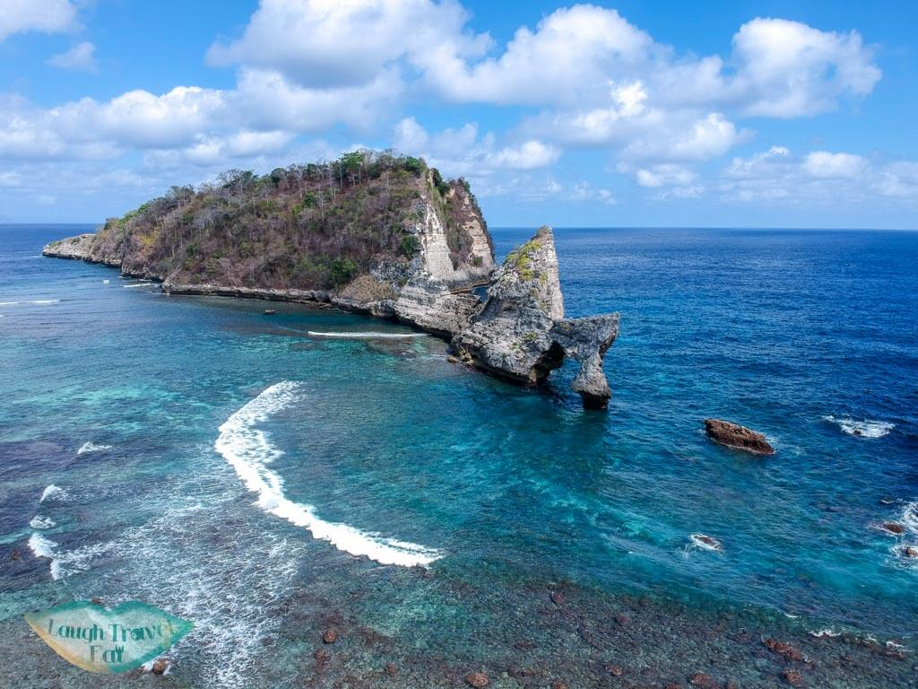 Atuh Beach Nusa Penida Bali Indonesia - Laugh Travel Eat