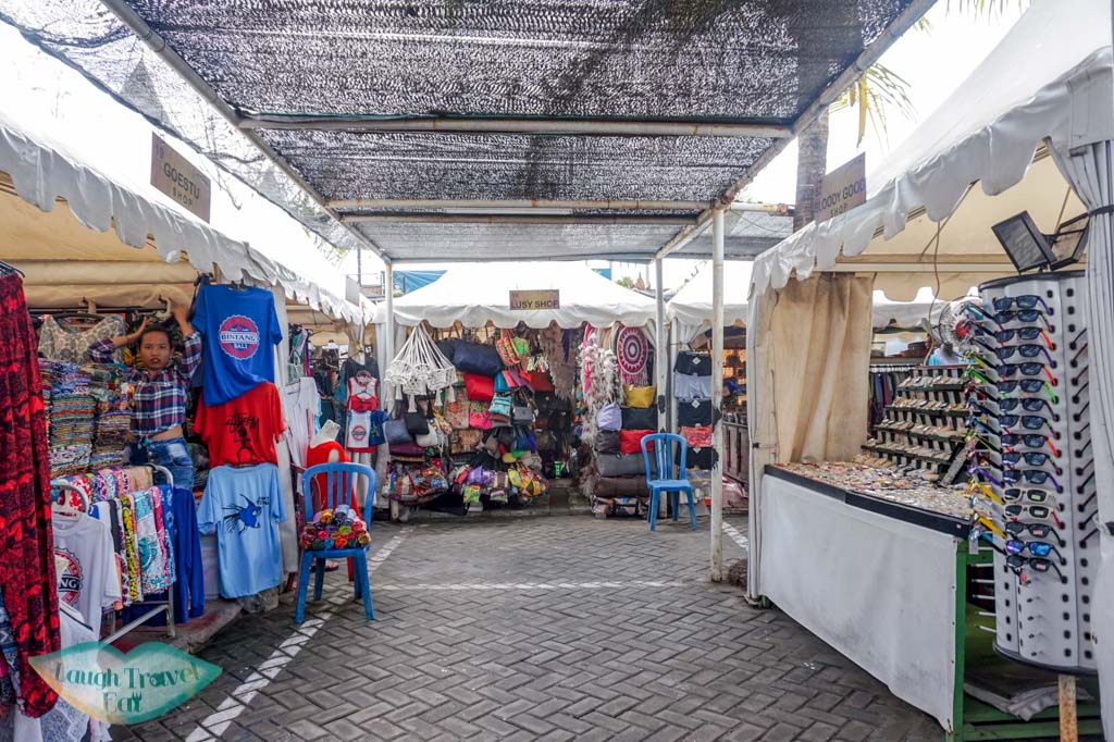 flea market seminyak bali indonesia - laugh travel eat