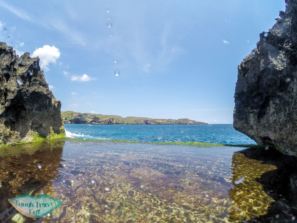 infinity pool Angels Billabong Nusa Penida Bali Indonesia - Laugh Travel Eat