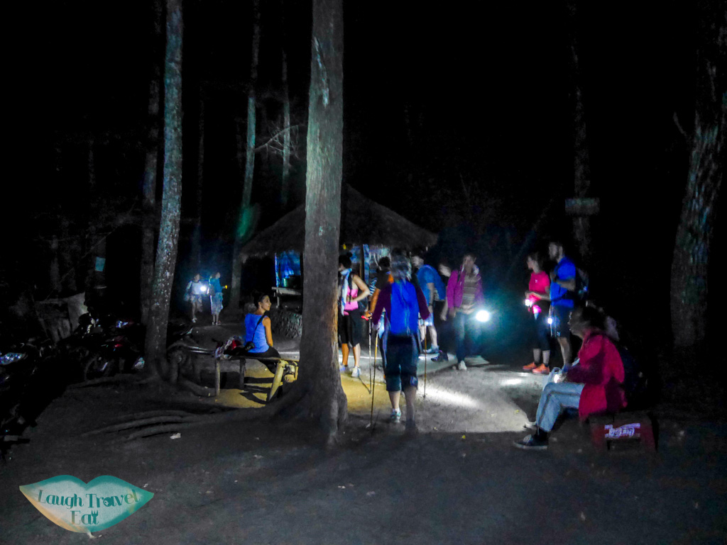 night hike up Mount Batur bali indonesia - laugh travel eat