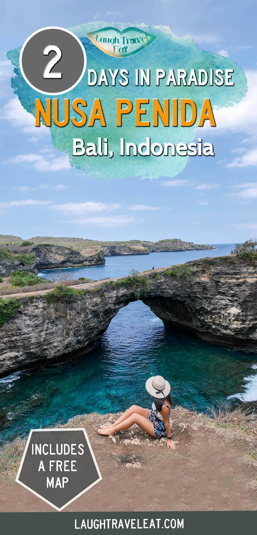 Nusa Penida has one of the best natural sights in Bali. It isn't easy to get around but here's how to visit Nusa Penida in 2 days: