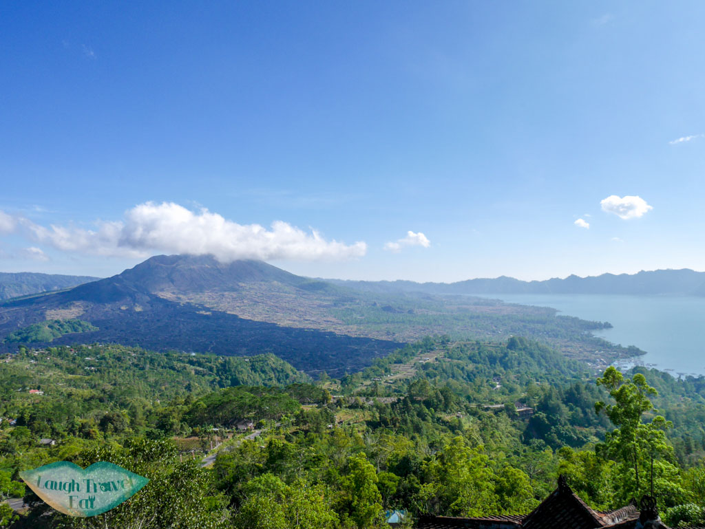 view from lakeview hotel bali indonesia - laugh travel eat