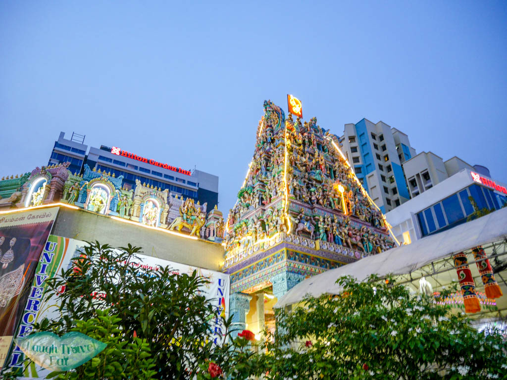 Sri Veerama Kaliamman Temple little india singapore - laugh travel eat