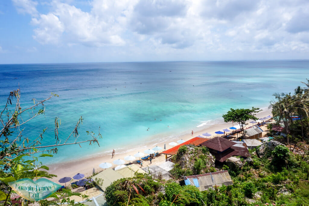aerial padang padang beach uluwatu bali indnoesia - Laugh Travel Eat