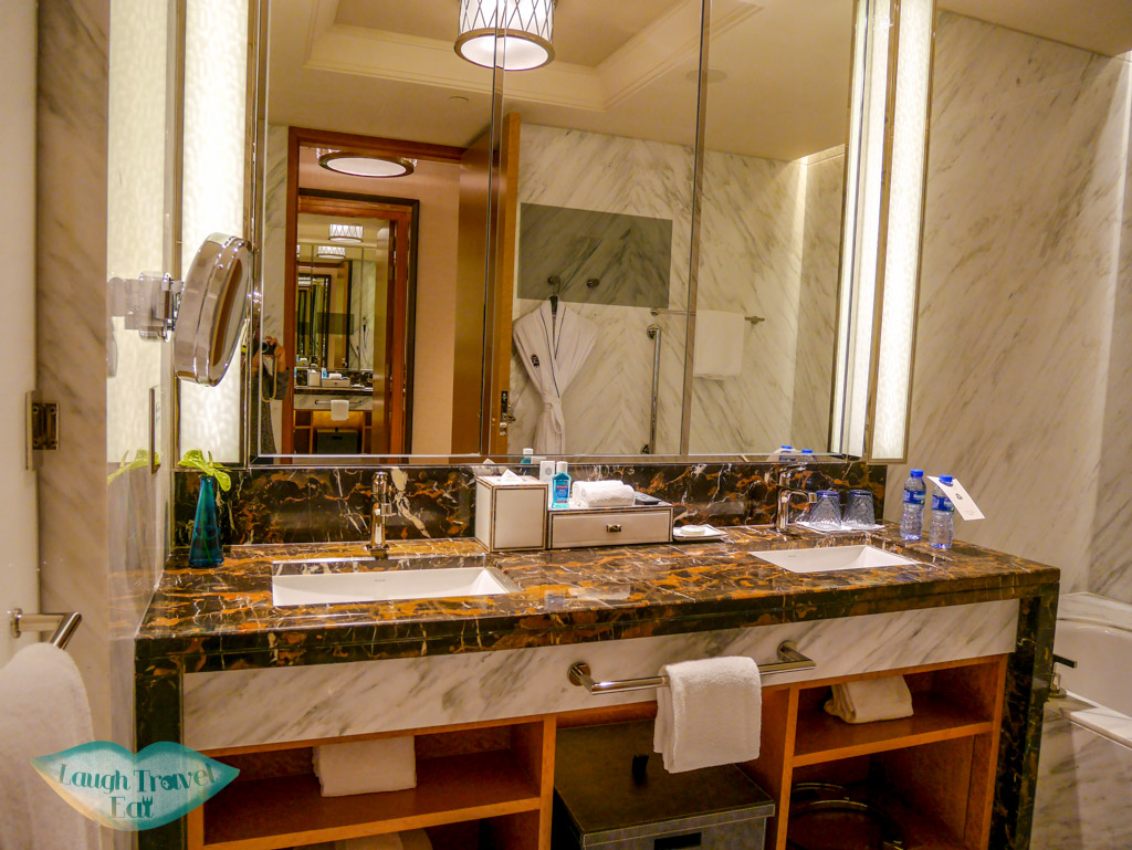 bathroom st regis hotel macau - laugh travel eat