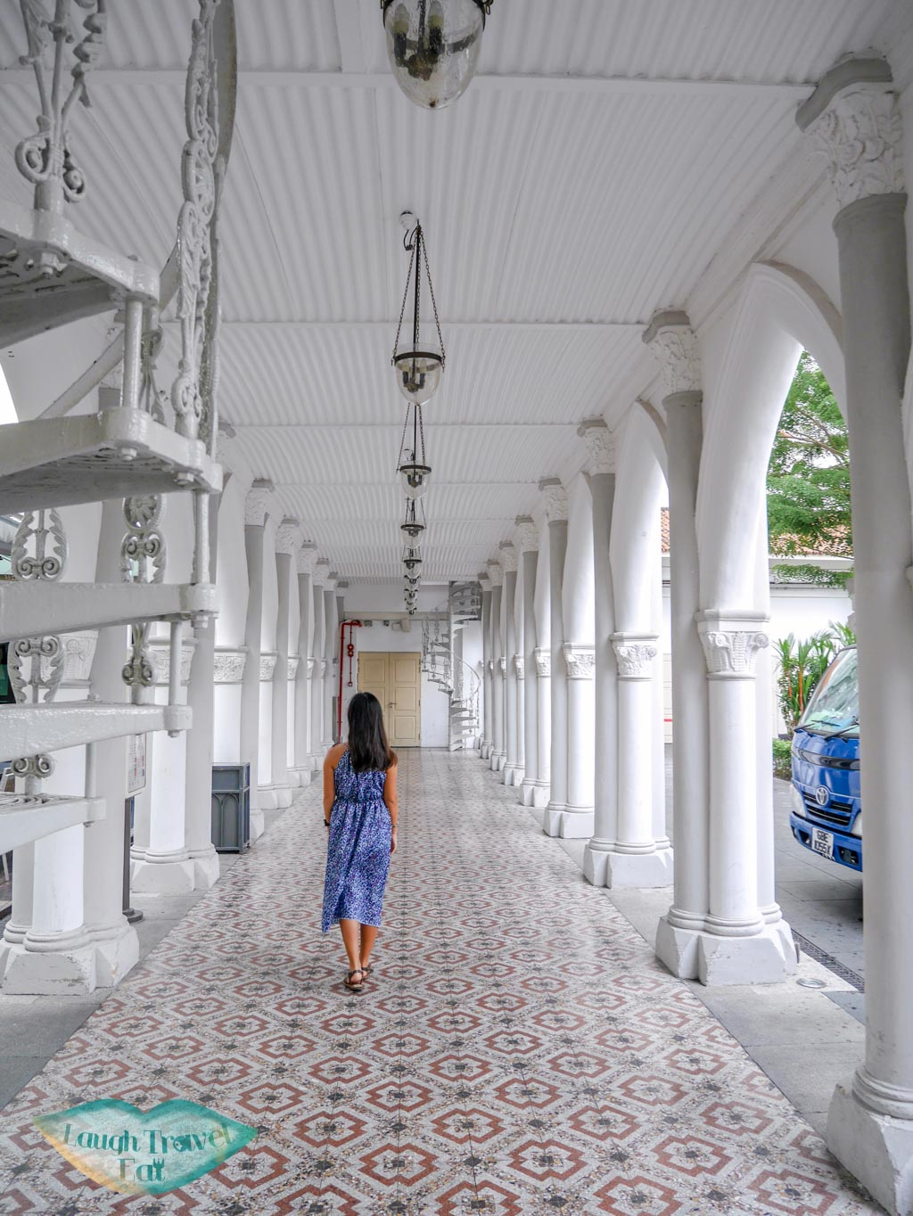 chijmes corridor singapore - laugh travel eat