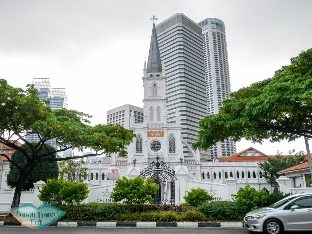 chijmes from across the road singapore - laugh travel eat