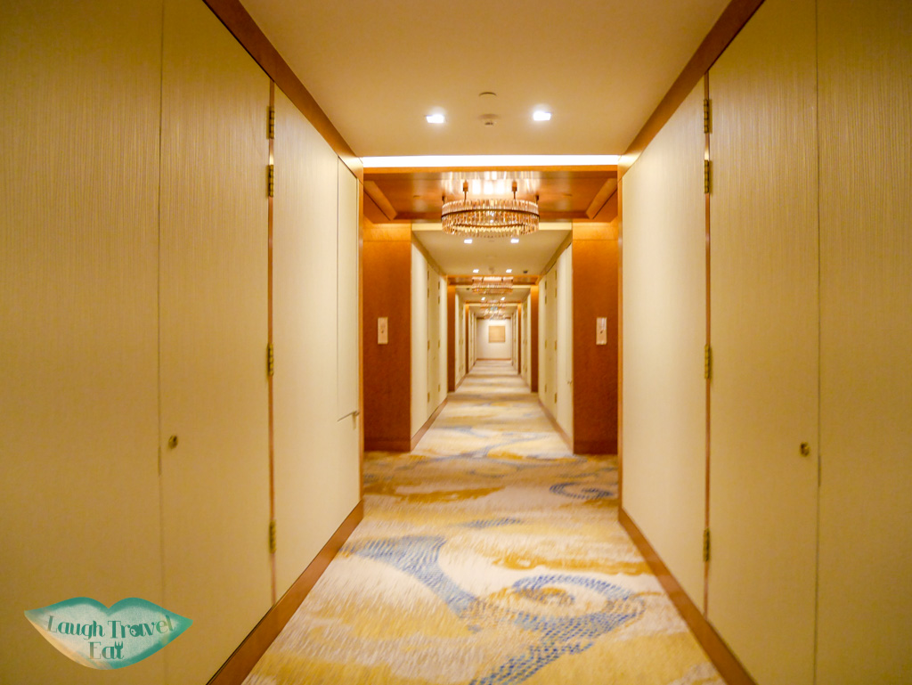 corridor st regis hotel macau - laugh travel eat