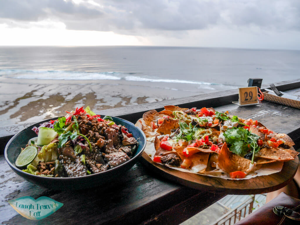 food at single fin uluwatu bali indnoesia - Laugh Travel Eat