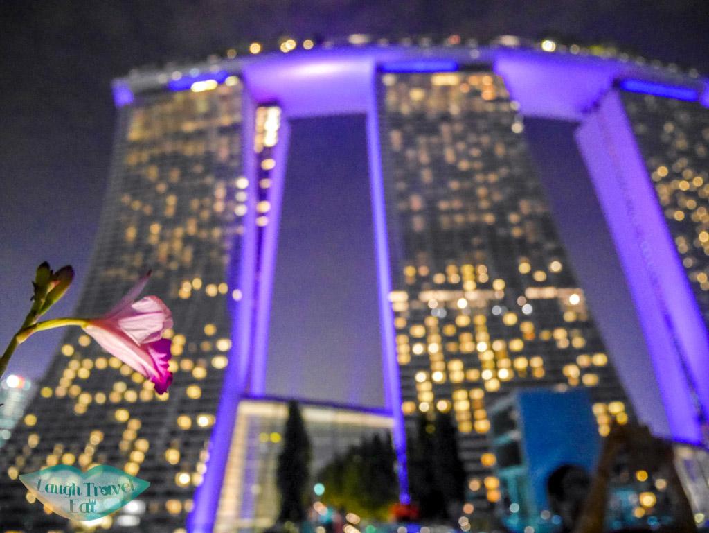 marina bay sand hotel singapore - laugh travel eat