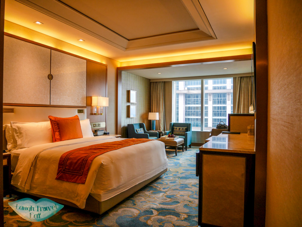 room in st regis hotel macau - laugh travel eat