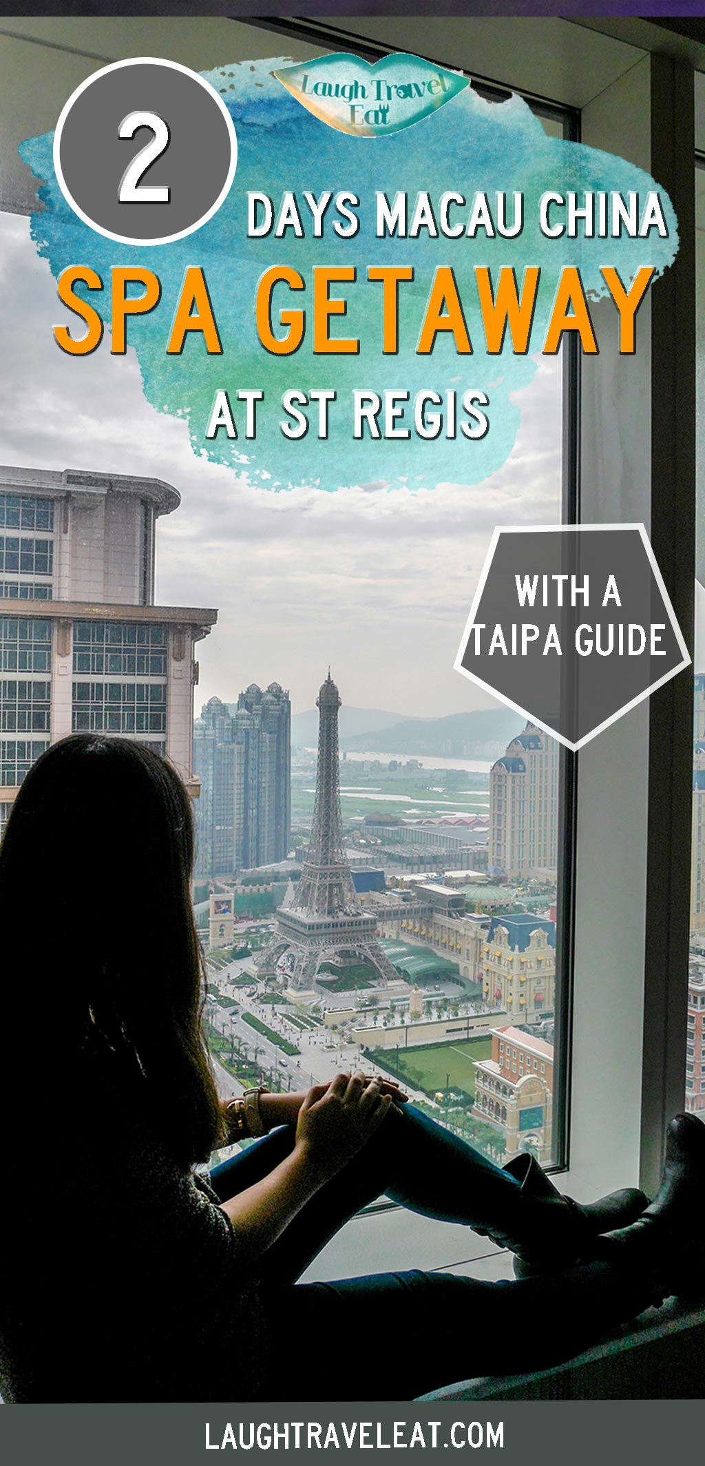 A Macau Spa getaway at the St Regis is the perfect solution to any problem. From the perfect view & room plus food, here's the load down: