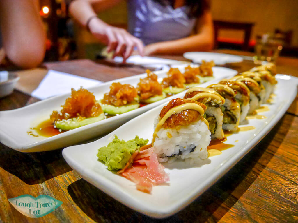 toro sushi ubud bali indnoesia - Laugh Travel Eat