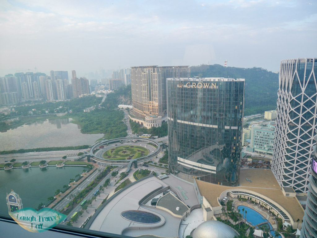 view from iridium spa lv 8 st regis hotel macau