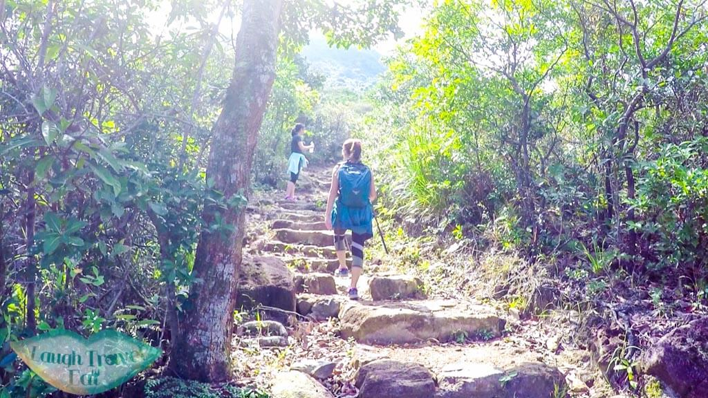 gentle staircase from pak tam chung to tai tun shan sai kung hong kong