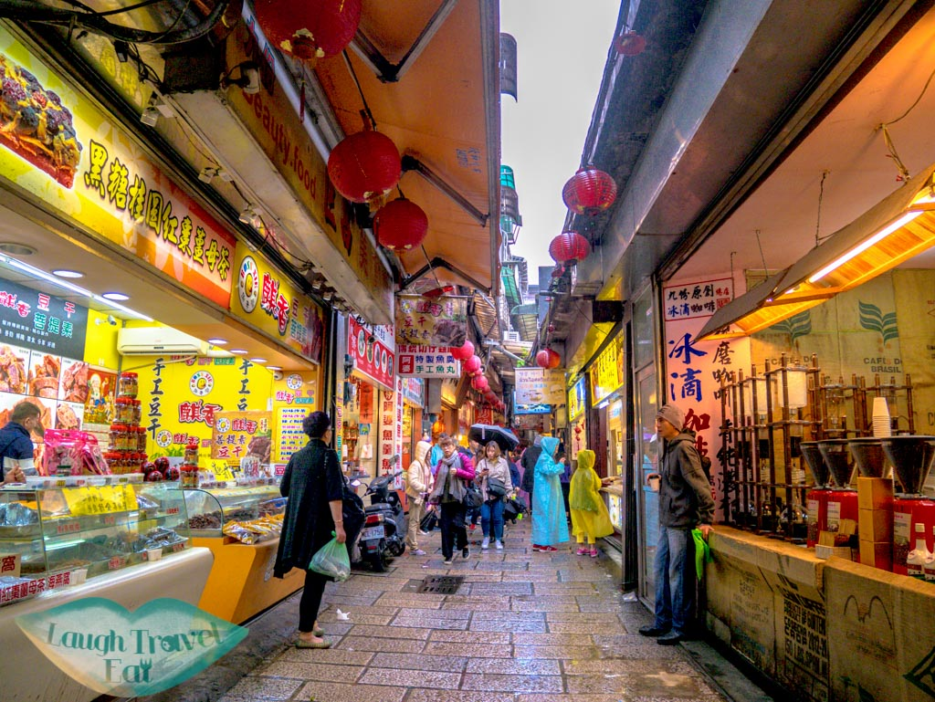 jishan street jiufen old street ruifang taiwan - Laugh Travel Eat