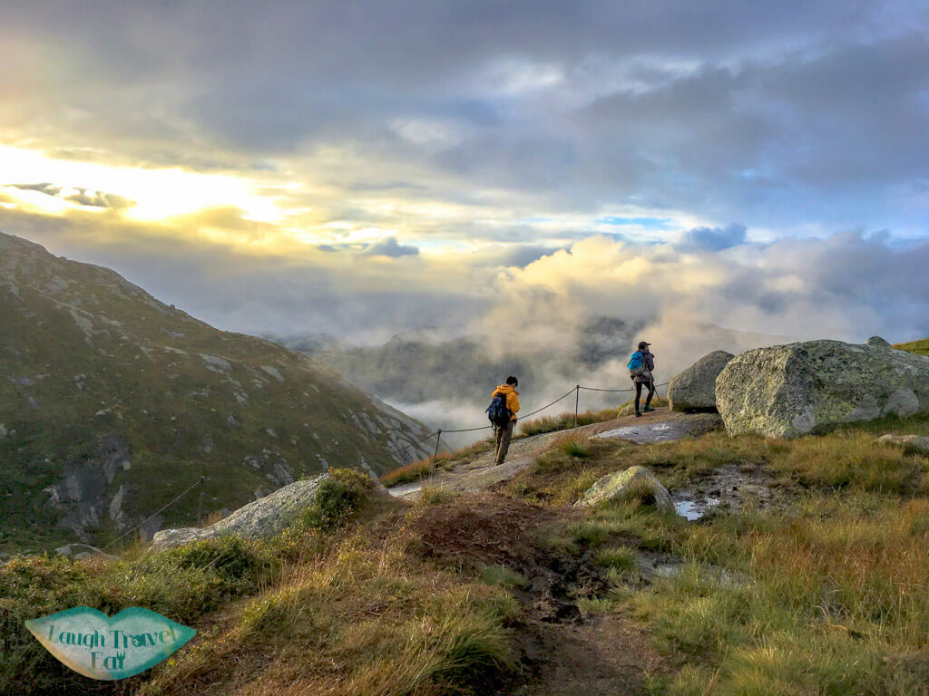 kjeragbolten hike norway europe | Laugh Travel Eat