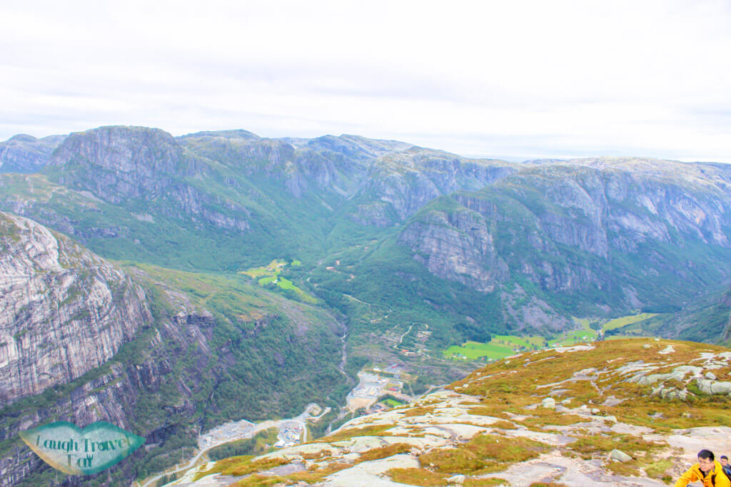 Lysebotn in the valley, kjeragbolten hike norway europe | Laugh Travel Eat