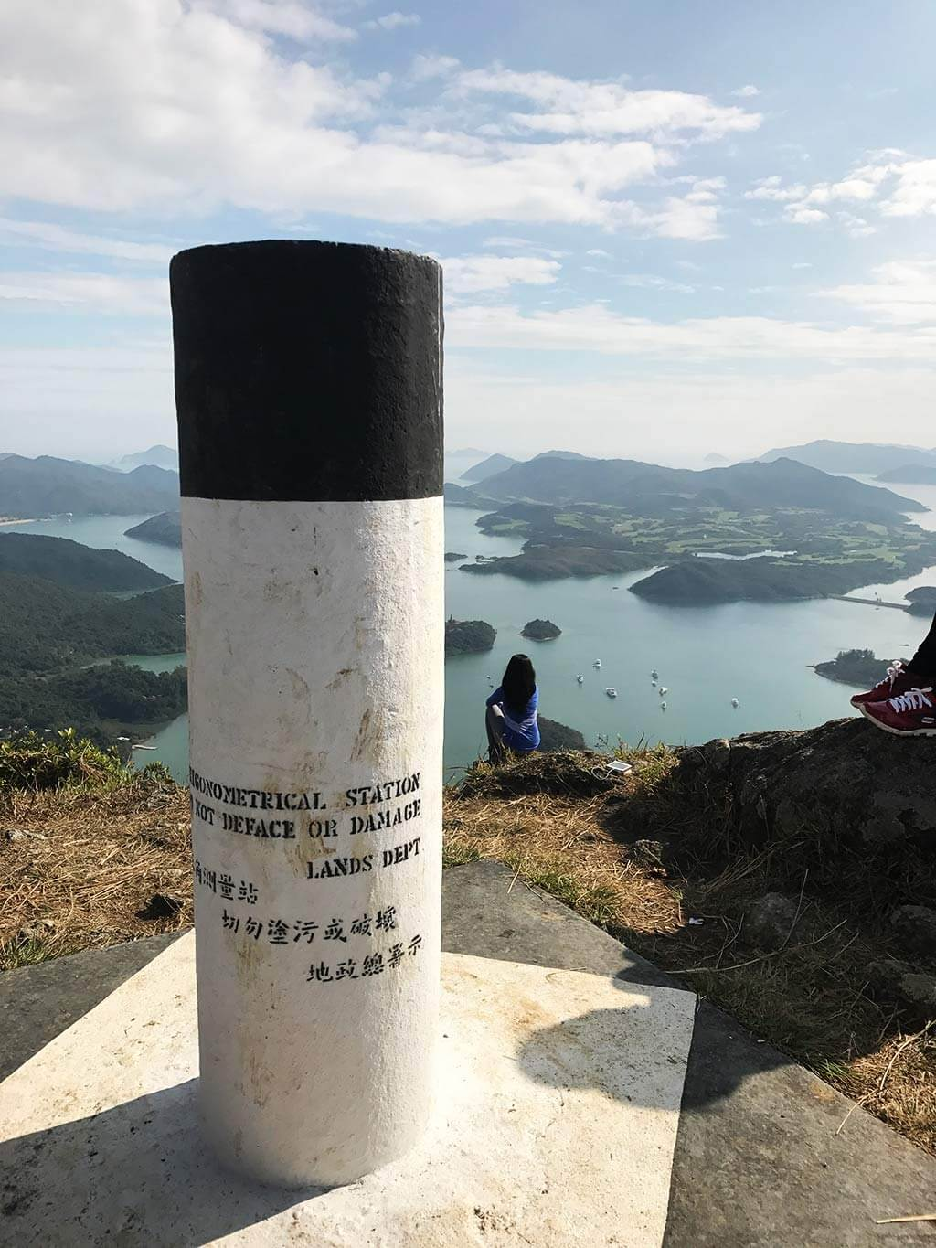 tai tun shan peak pillar sai kung hong kong | Laugh Travel Eat