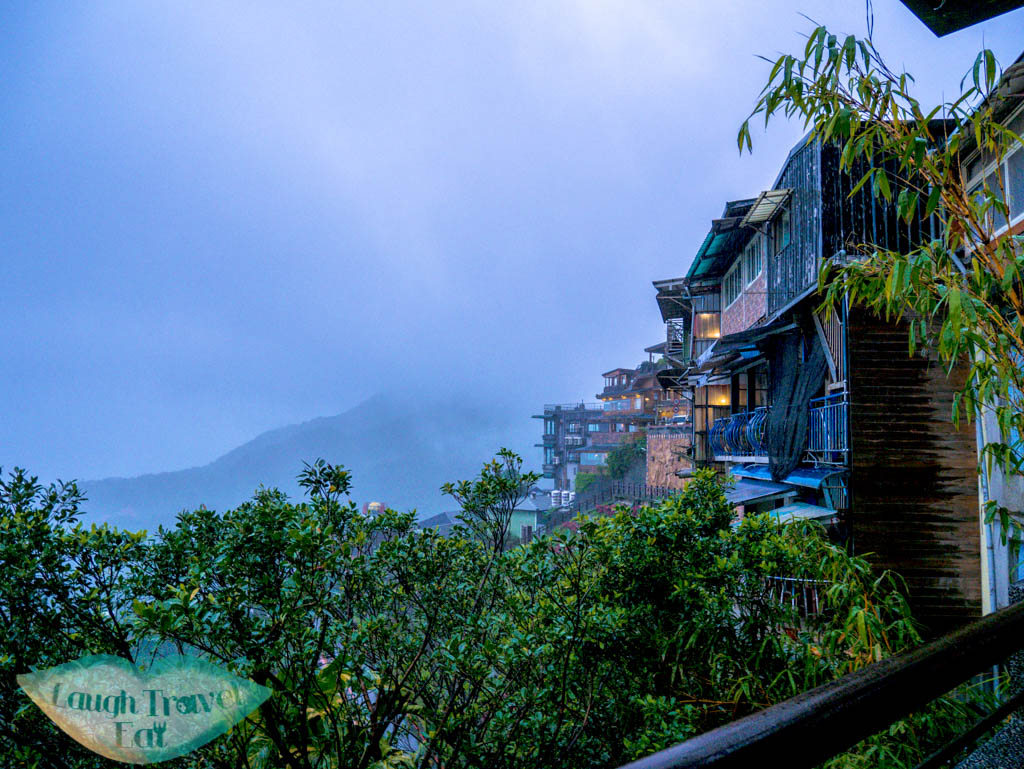 viewpoint at the other end jiufen old street ruifang taiwan - Laugh Travel Eat