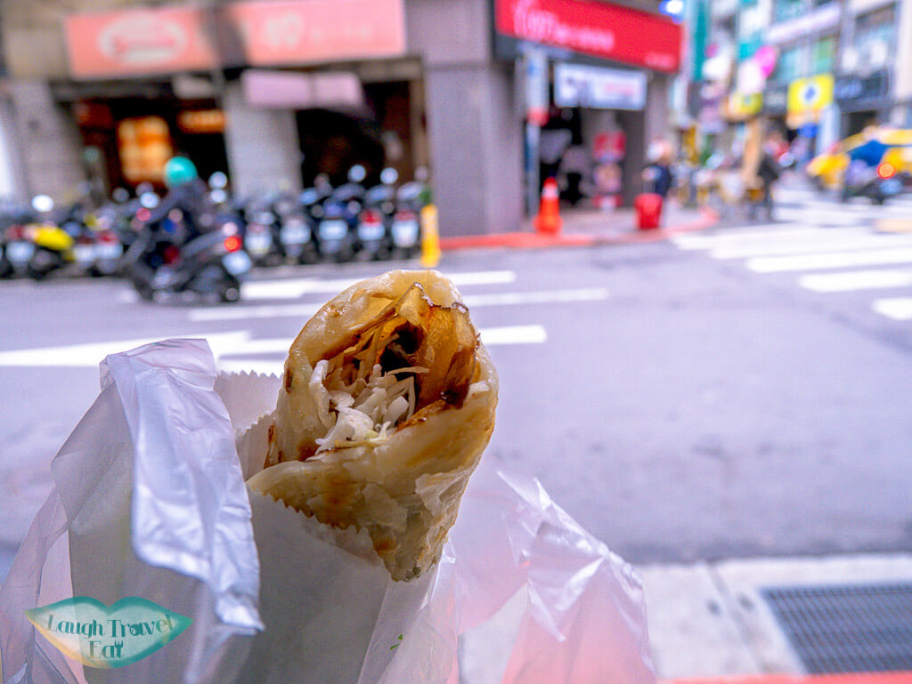 beef hand roll taipei taiwan - laugh travel eat