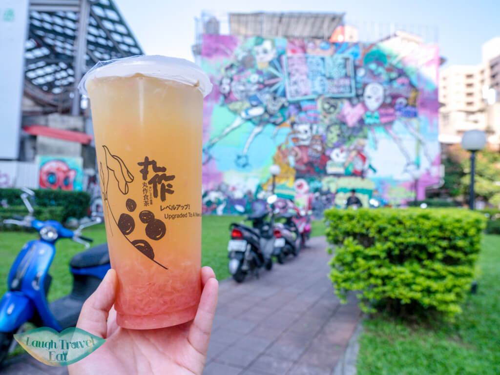 boba time taipei taiwan -laugh travel eat