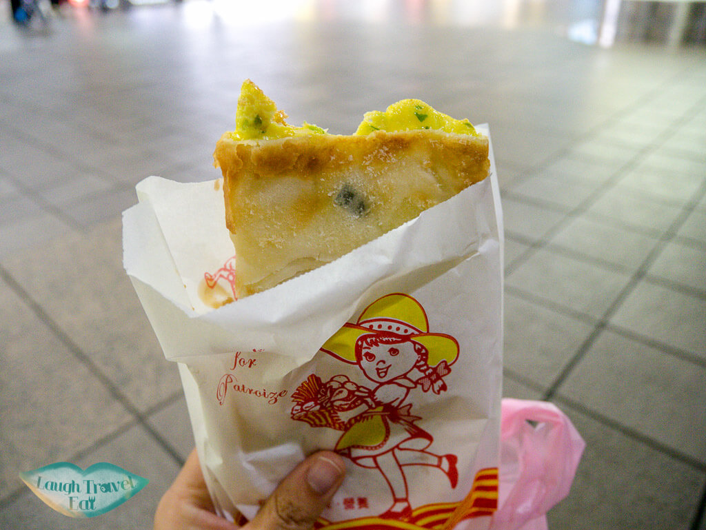 egg pancake taipei taiwan - laugh travel eat