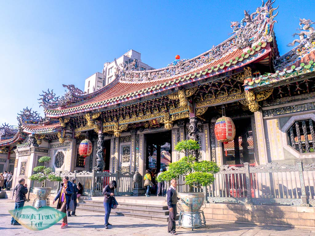 longshan Temple taipei taiwan - laugh travel eat