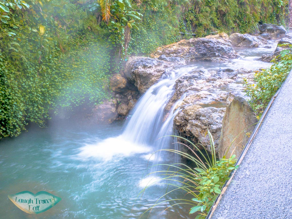 natural hotspring river beitou taipei taiwan - laugh travel eat