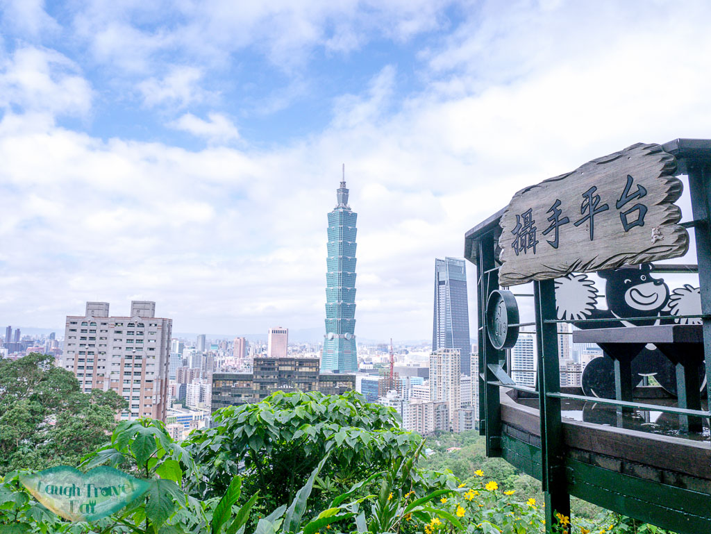 photospot xiangshan taipei taiwan - laugh travel eat