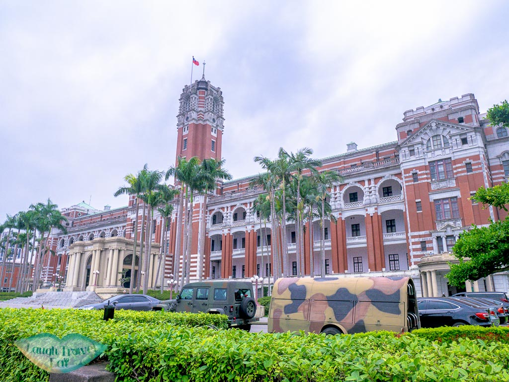 president official building taipei taiwan - laugh travel eat