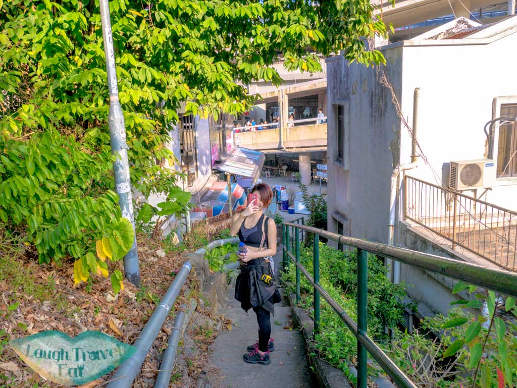 last stretch to shatin east rail station from needle hill hong kong- laugh travel eat