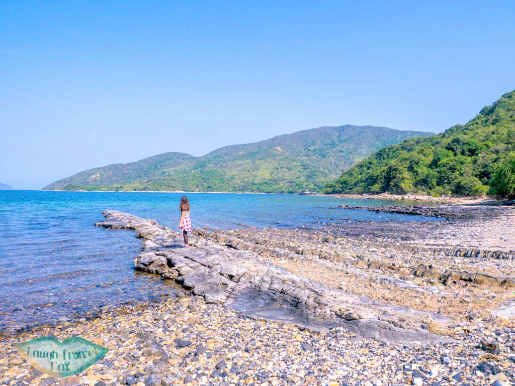 layers going to the sea at lai chi chong geopark sai kung hong kong- laugh travel eat