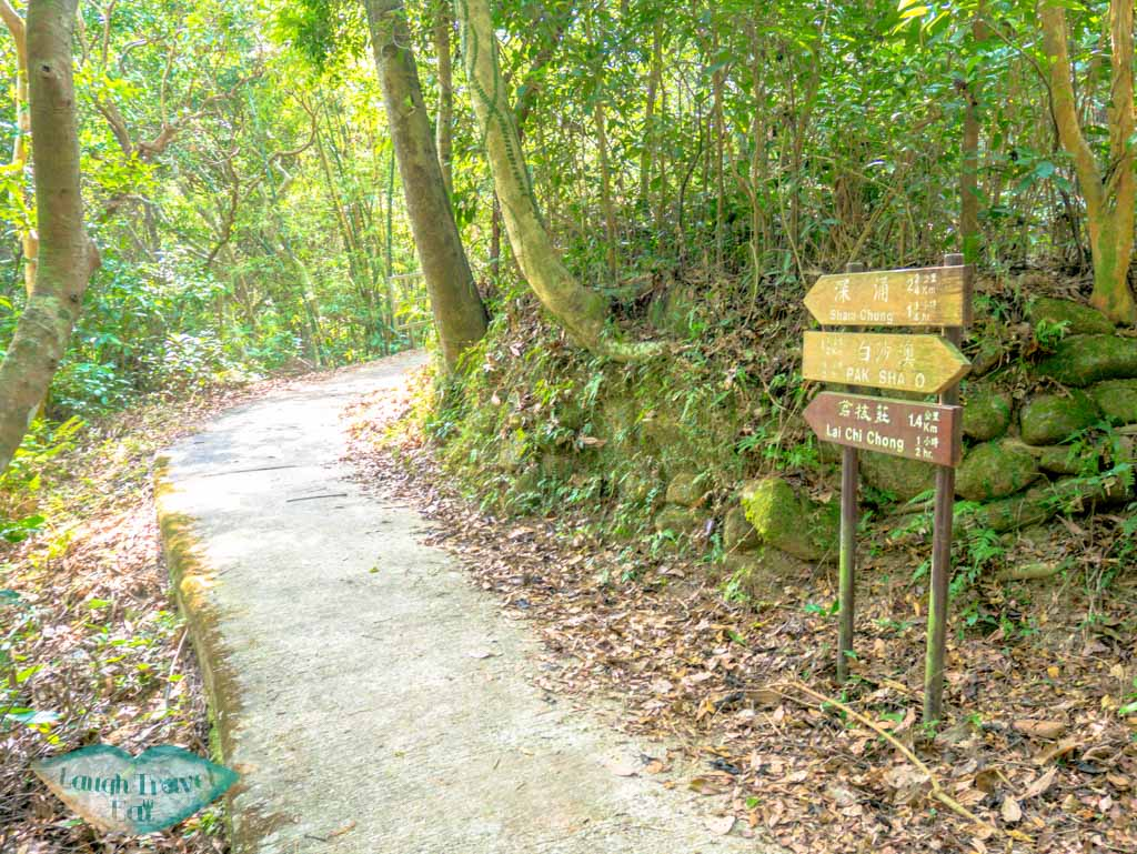 pak sha o to lai chi chong trail sai kung hong kong- laugh travel eat