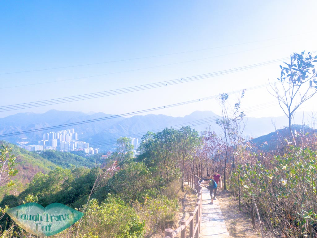 stairs down to shatin from needle hill hong kong- laugh travel eat