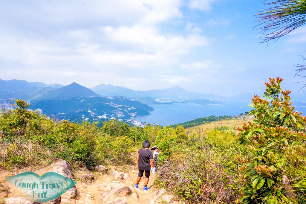 first small hill high junk peak hike hong kong- laugh travel eat