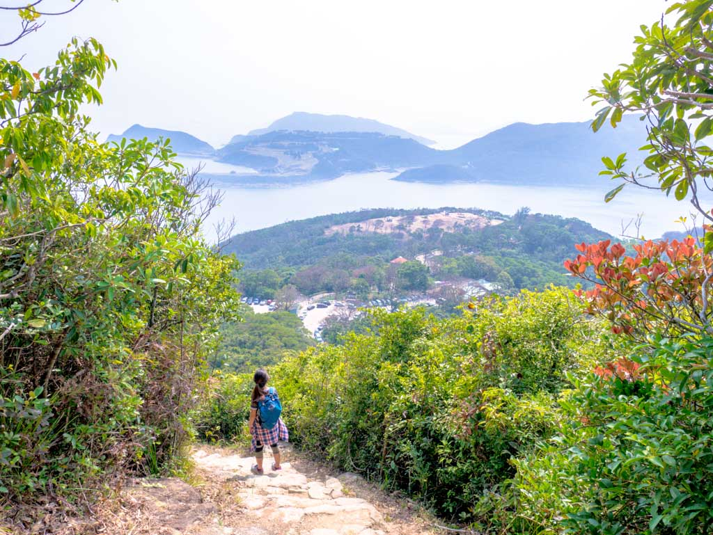 going down clear water bay country park lung ha wan country trail hong kong- laugh travel eat