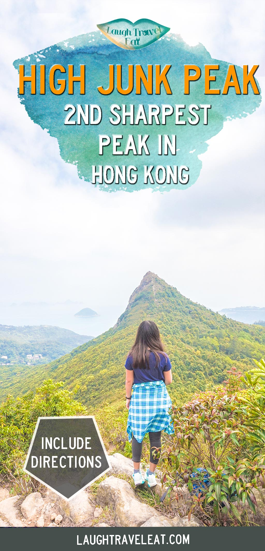 High Junk Peak is part of the three sharpest peak in Hong Kong with a clear view of Clear Water Bay. Here is how to hike it: #hongkong #hiking #nature