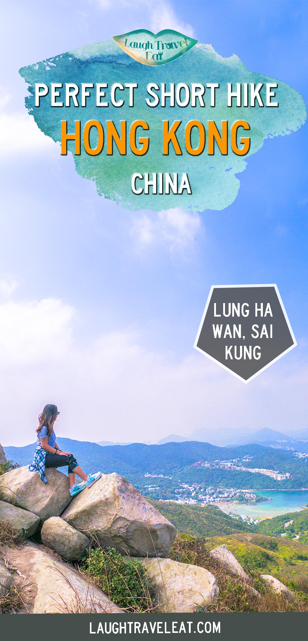 Lung Ha Wan Country Trail is a 3 hour hike that offers a great view of Clear Water Bay up Tai Tun Leng in Hong Kong #hongkong #hike #hiking #nature