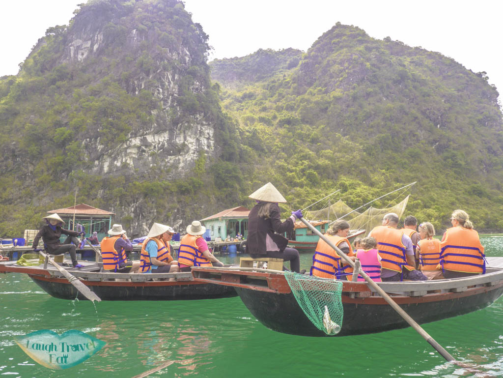 Cua-Van-Floating-village-on-bamboo-boats-paradise-elegance-halong-bay-vietnam-laugh-travel-eat