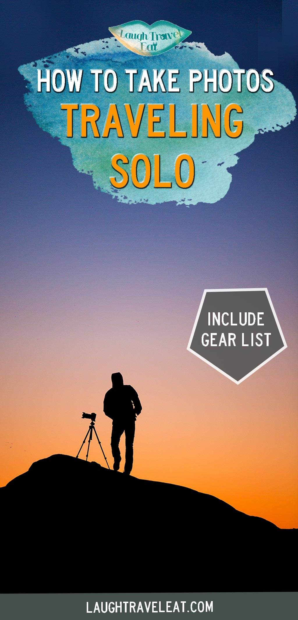 Taking photos when you travel solo is difficult. Aside from asking a stranger, here's how to shoot the best shot by yourself: #solophotography #solo #photos