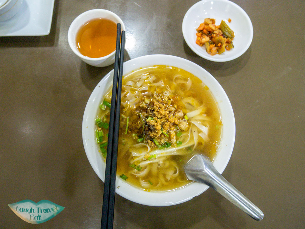 noodles at 999 noodle shop yangon myanmar - laugh travel eat