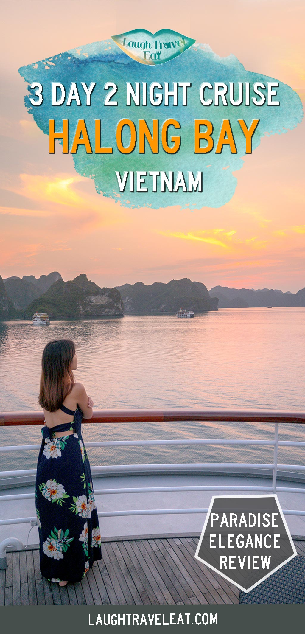 Want to go on a Halong Bay overnight cruise? Paradise Elegance might be perfect for you: here's a review on this Halong Bay trip #halongbay #cruise #review #vietnam