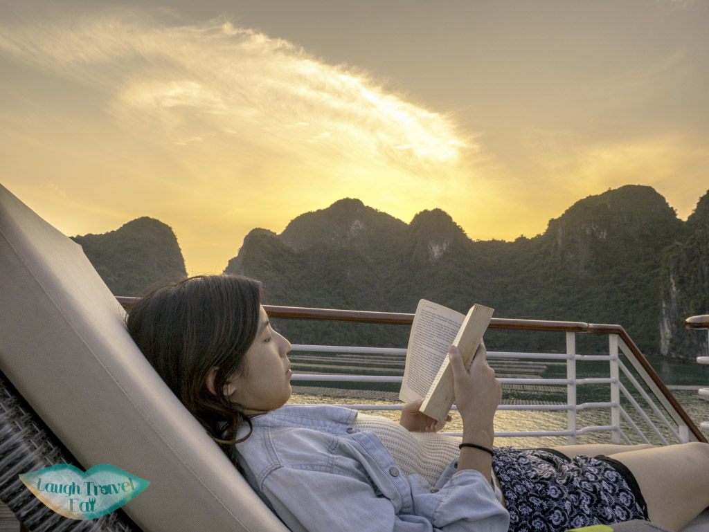 relaxing-on-sundeck-paradise-elegance-halong-bay-vietnam-laugh-travel-eat