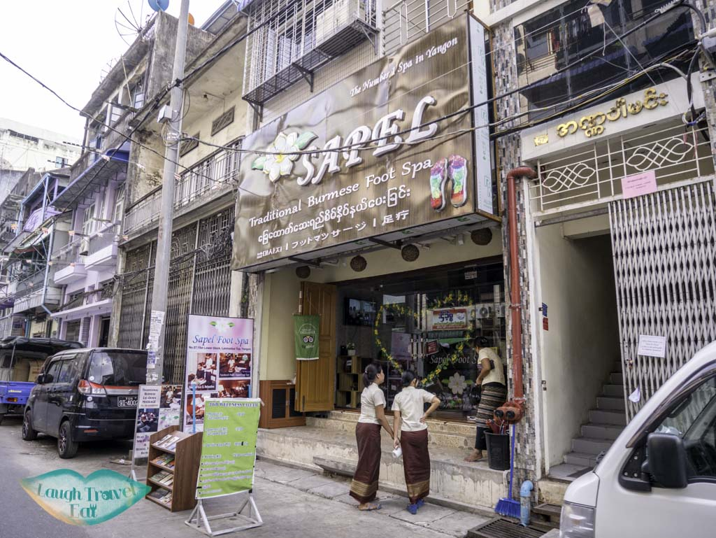 sapel's foot spa yangon myanmar - laugh travel eat