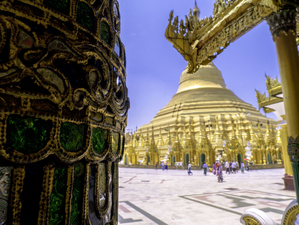 shwedagon pagoda yangon myanmar - laugh travel eat