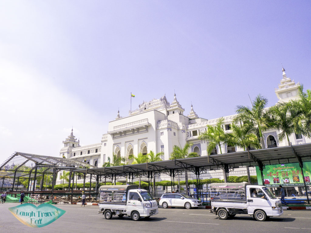 town hall yangon myanmar - laugh travel eat