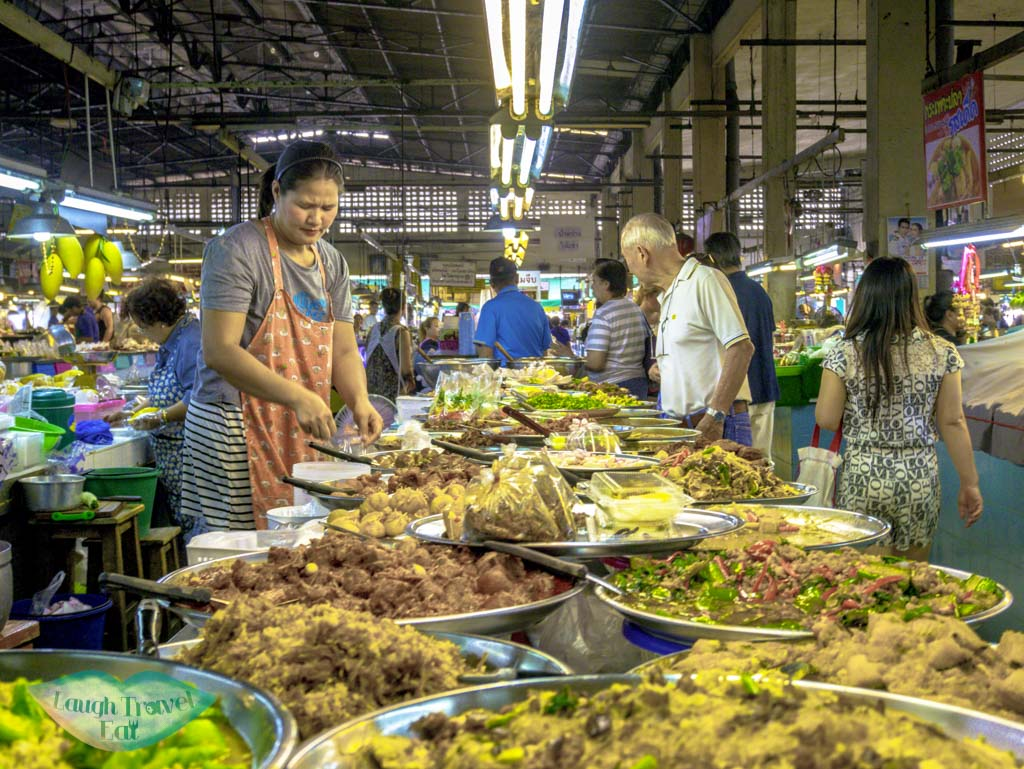 food-stall-at-tanin-market-at-Chiang-Mai-Thailand-Laugh-Travel-Eat