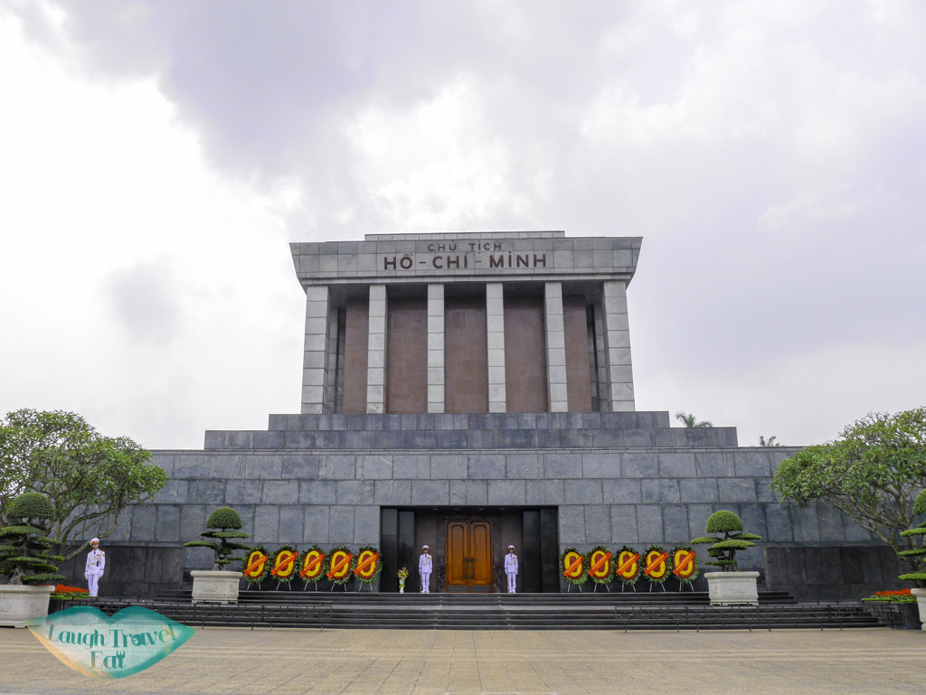ho-chi-minh-mausoleum-hanoi-vietnam-laugh-travel-eat